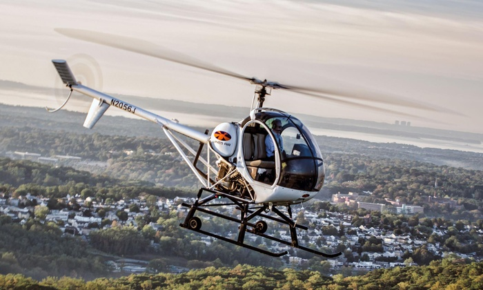 Wings Air Helicopters - White Plains: Piloting Experience for One or New York City Helicopter Tour for Two from Wings Air Helicopters (Up to 48% Off)