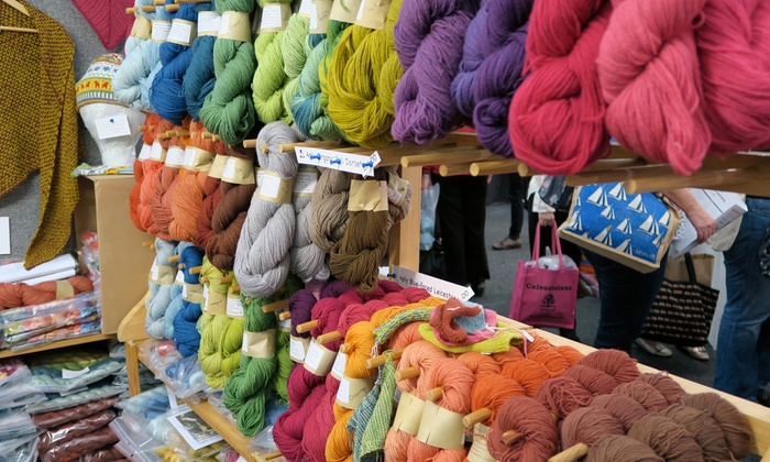 The Knitting and Stitching Show - RDS: One Adult Ticket to The Knitting & Stitching Show Dublin, 9 – 12 November (Up to 21% Off)