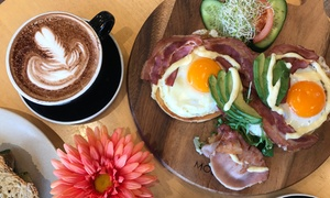 Ninou Boulangerie Pâtisserie Viennoiserie: Breakfast or Lunch with Coffee for 1 ($12) or 3 ($34) at Ninou Boulangerie Pâtisserie Viennoiserie (Up to $67.20 Value)