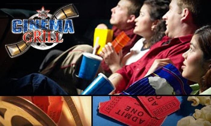 Greenbriar Cinema Grill - Washington: $7 for Two Movie Tickets at Greenbriar Cinema Grill