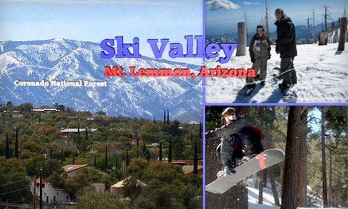 Mt. Lemmon Ski Valley - Tucson: $4 for One Sky-Ride Ticket at Mt. Lemmon Ski Valley