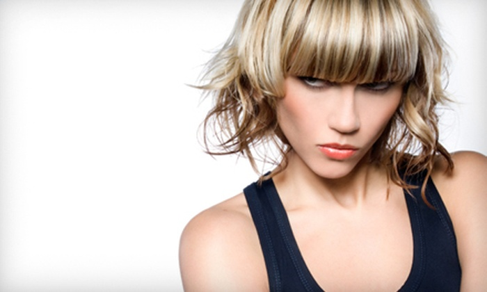 Salon Onyx - Crossroads of Lakeville: Haircut, Full Foil, and Style or Brazilian Wax at Salon Onyx in Lakeville (Half Off)