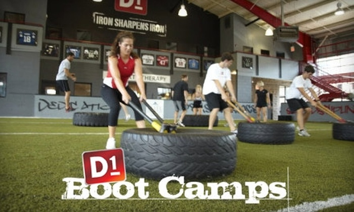 D1 Sports Training - Franklin: $30 for Four Fitness Classes at D1 Sports Training ($80 Value)