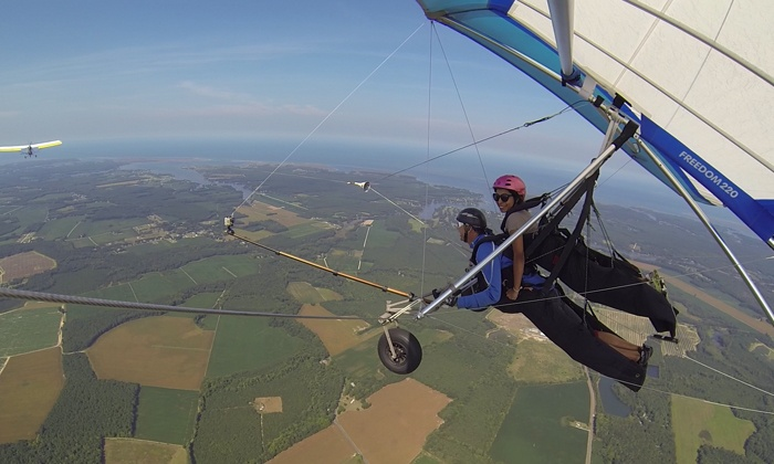 Virginia Hang Gliding - Virginia Hang Gliding: $159 for One Tandem Hang Gliding Flight and Lesson at Virginia Hang Gliding ($299 Value)