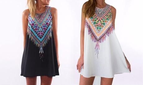Vestido de mujer Hippie-Chic