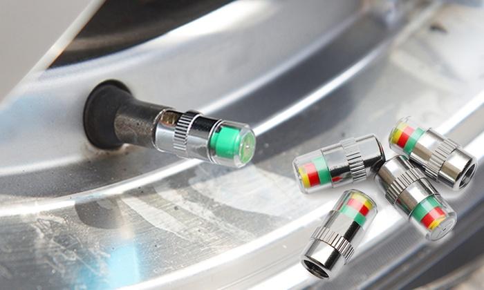 Misuratore di pressione gomme