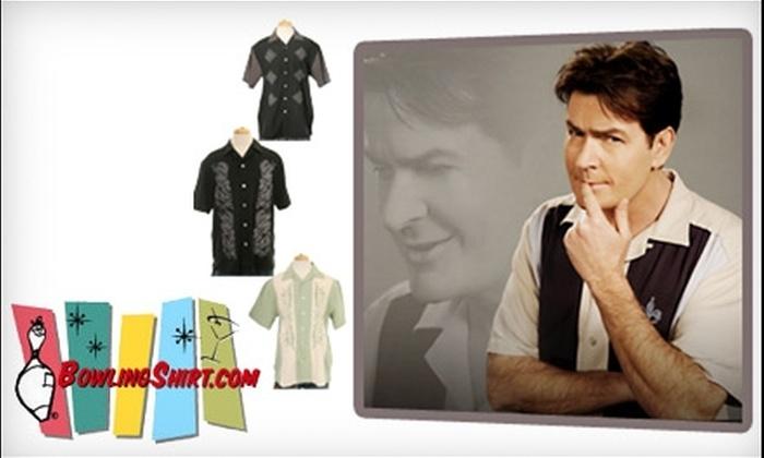 Bowlingshirt.com: $20 for $40 Worth of Custom Bowling Shirts and Retro Apparel from Bowlingshirt.com