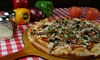 Italian Food and Drink at Castrillo's Pizza