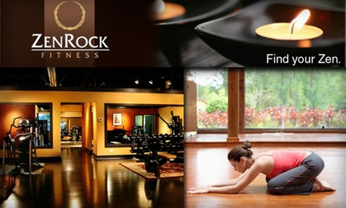 ZenRock Fitness - Southeast Redmond: $30 for Five Yoga Classes for Your Body and Mind at ZenRock Fitness ($80 Value)