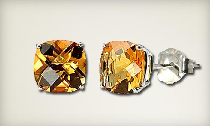 Desiree Morgan Company: $125 for One Pair of Cushion-Cut Stud Earrings from Desiree Morgan Company ($399 Value)