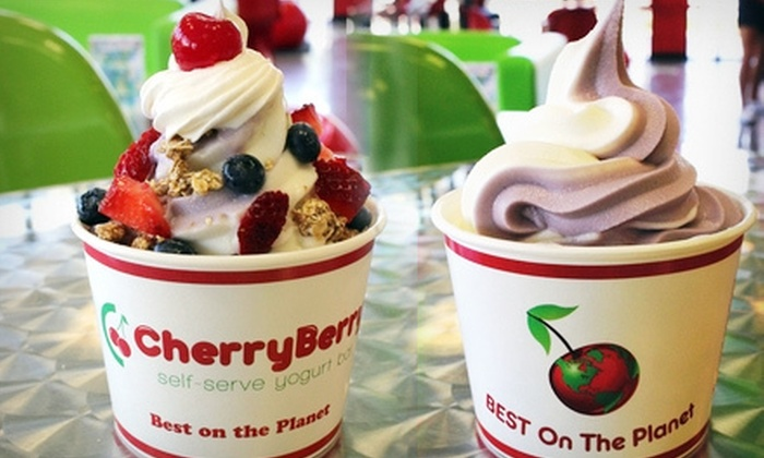 CherryBerry  - Crooked Creek at Oaks: $4 for $8 Worth of Frozen Yogurt and Toppings at CherryBerry in Derby