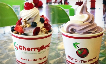 $8 Groupon to CherryBerry  - CherryBerry  in Derby