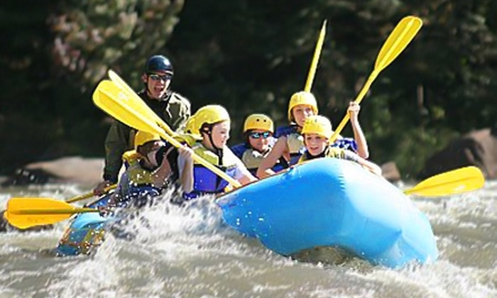 Outdoor Adventure Rafting - Benton: $38 for Whitewater Rafting and Rock Climbing with Rappelling from Outdoor Adventure Rafting (Up to $77 Value)