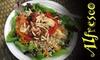 Alfresco - OOB - Downtown Santa Cruz: $3 for $6 of Vegetarian Fare at Alfresco