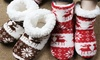 Christmas Plush Slippers