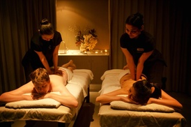 Varda Spa: $59 for a 70-Minute Massage Package, or $129 for a 130-Minute Spa Escape Package at Varda Spa, CBD (Up to $260 Value)