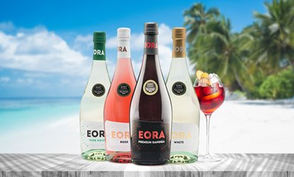 image for Less than $5 per bottle - 4 or 12 Bottles of Eora Sparkling Wine from Award-Winning Winery (Up to 62% Off)