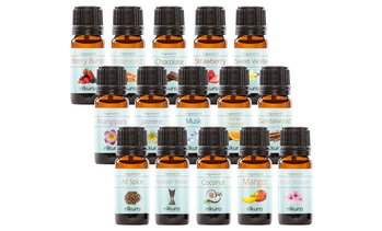 Set of Five Fragrance Oils 10ml