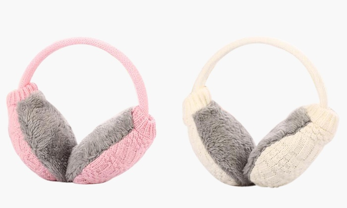 Cache oreille en tricot et polaire groupon for Interieur oreille
