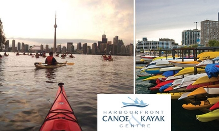 Harbourfront Canoe & Kayak Centre - Downtown Toronto: $85 for a Three-Hour Kayak Tour from Harbourfront Canoe & Kayak Centre ($125 Value)