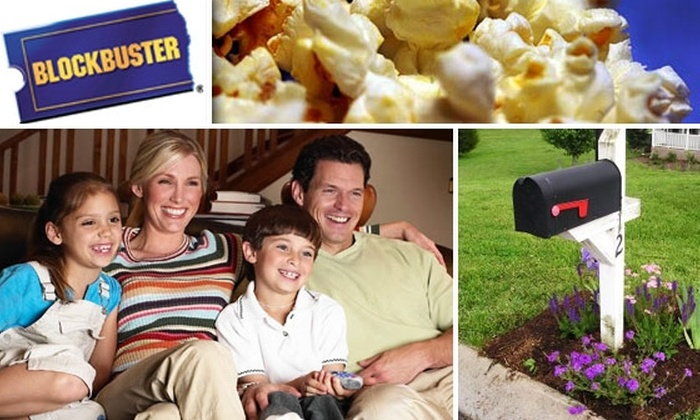 Blockbuster  - Houston: Six Weeks of Free Movies With BLOCKBUSTER® by Mail