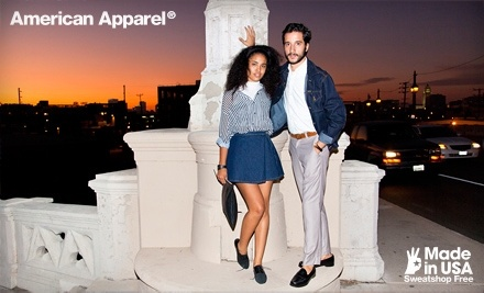 $50 Toward In-Store Purchases at American Apparel - American Apparel in
