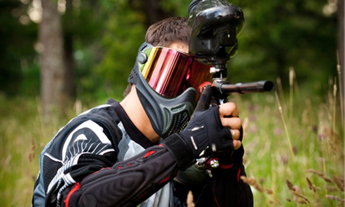 Pin Oak Creek RV Park - Villa Ridge: $40 for a Full-Day Paintball Outing for Two or $75 for Four at Pin Oak Creek RV Park ($95.40 Value)