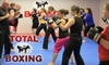 Total Boxing - Rivermont: $19 for One Month of Unlimited Muay Thai Circuit Training at Total Boxing in Alpharetta ($40 Value)