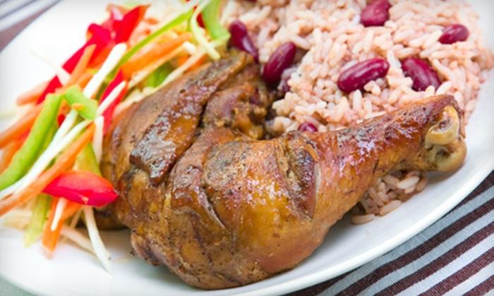 Jammin Jerk BBQ - Suffolk: $7 for $15 Worth of Caribbean Barbecue Fare at Jammin Jerk BBQ in Suffolk
