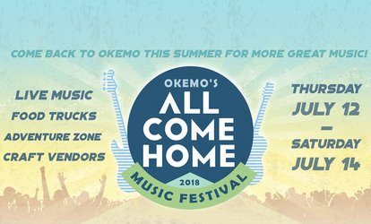 One or Three Day Admission to Okemo's All Come Home Music <strong>Festival</strong> (Up to 47% Off)