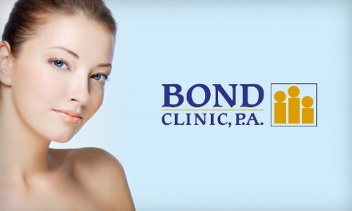 Bond Clinic, P.A. - Downtown Winter Haven: $50 for Four-Layer Anti-Aging Facial at Bond Clinic, P.A. in Winter Haven ($100 Value)