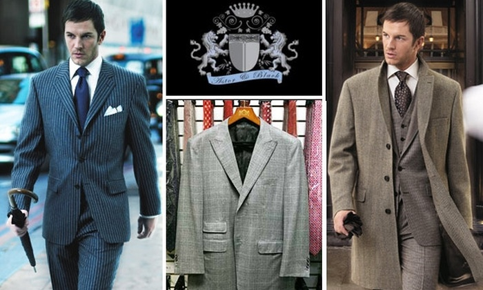 Astor & Black Custom Clothiers - Boston: Half Off Custom-Tailored Men's Clothing at Astor & Black