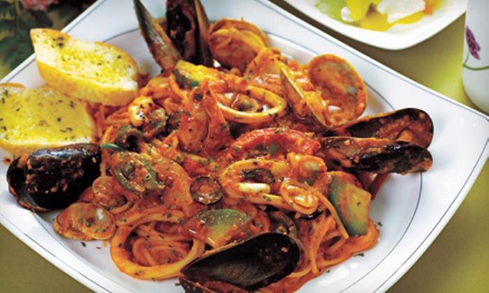 Villaggio's Ristorante - Roselle: Italian Dinner or Lunch Fare at Villaggio Ristorante in Roselle (Half Off)