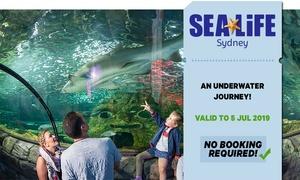 SEA LIFE Sydney Entry