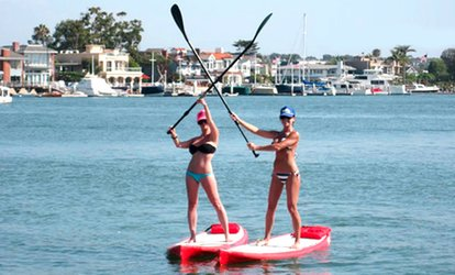 Kayak and SUP Rentals from Wayward Captain Paddleboards (Up to 60% Off). Four Options Available.