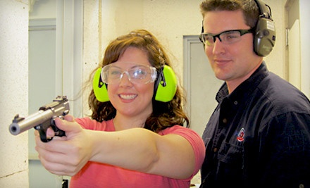 A Shooting-Range Outing for 1 Person ($60 Value) - Shoot Smart in Fort Worth