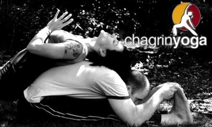 Chagrin Yoga - Chagrin Falls: $30 for Any Four Yoga Classes at Chagrin Yoga in Chagrin Falls ($60 Value)