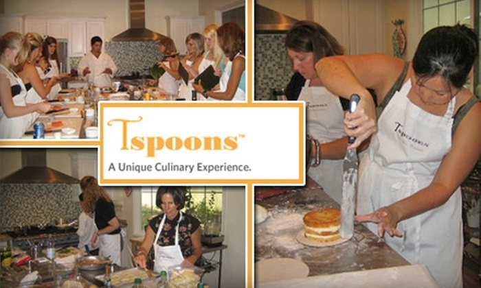 Tspoons - Trabuco: $69 for a Cooking Class with Tspoons