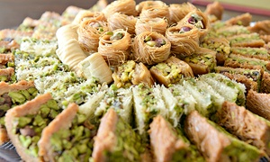 Lebanese Flower Sweets: Lebanese Flower Sweets: AED 70, 100 or 150 to Spend on Desserts from AED 35 (Up to 54% Off)