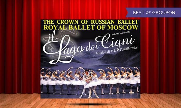 Lago dei Cigni oLo Schiaccianoci con il Royal Ballet of Moscow a Civitavecchia, Frosinone, Aprilia (sconto fino a 34%)