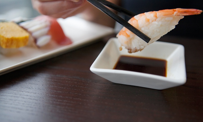 Ten Sushi - Lower Queen Anne: KaitenSushi and Sake Bar for Two or Fourat Ten Sushi (Up to 48% Off). Four Options Available.