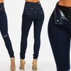Butt-Lifting High-Rise Skinny Jeans with Corset (Size 3)