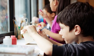My Kinder Club: Arts and Crafts Session for Groups of 2 or 4 Kids at My Kinder Club (Up to 62% Off)