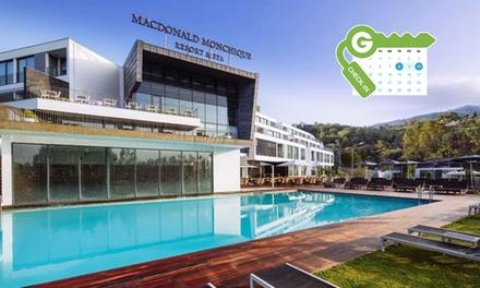 Algarve: estancia para 2 con gimnasio, clases de bienestar y opción a spa termal en Macdonald Monchique Resort & Spa 5*