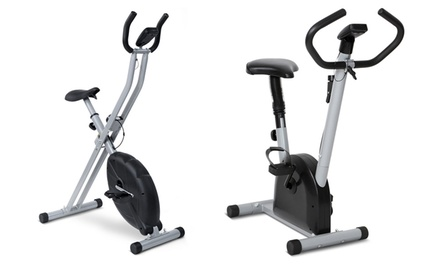 Vélo d'appartement, 2 modèles au choix, ergomètre avec 4 options d'affichage ou avec écran LCD, dès 59,99€