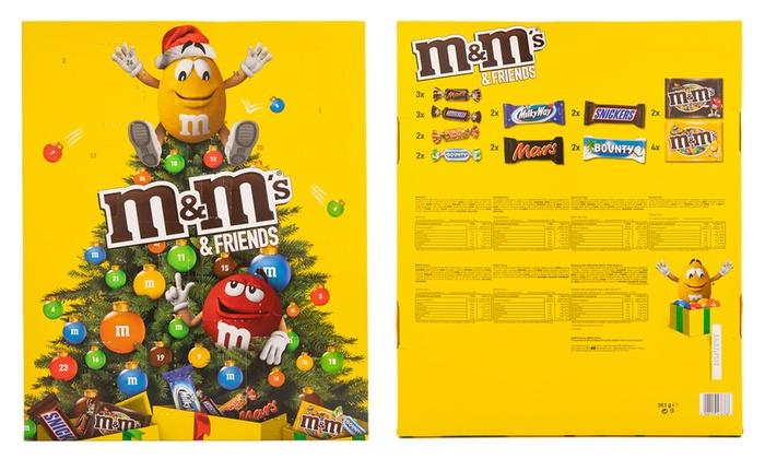 Calendario Avvento Mms.Fino A 60 Su Calendario Avvento M Ms Groupon