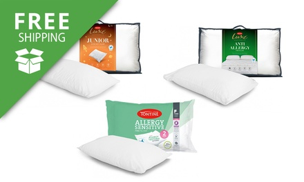 Free Shipping: for Two Tontine Allergy Sensitive or Luxe Pillows Don't Pay up to $79.98