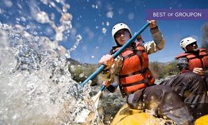 5Terre Outdoor srl: Rafting fino a 6 persone in Abruzzo sul fiume Aventino, tutto incluso, con 5Terre Outdoor (sconto fino a 51%)