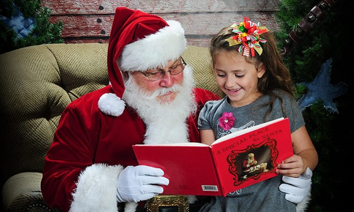 Santa Pictures by Landers Photography - Northwest San Antonio: $72 for a Family Photo with Santa with a CD from Landers Photography ($130