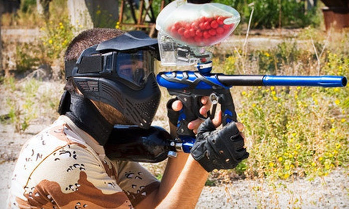 Saskatoon Paintball - Saskatoon: Two Hours of Unlimited Indoor Paintball for Two or Six with Equipment Rental at Saskatoon Paintball (Up to 53% Off)